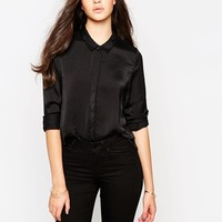 Vero Moda | Vero Moda Fitted Shirt at ASOS