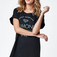 Diamond Supply Co Craftsman Crew Neck T-Shirt - Womens Tee - Black