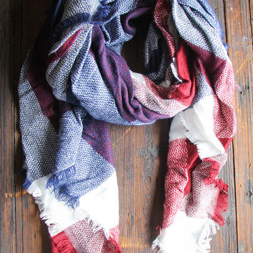 Tacoma Valley Blanket Scarf