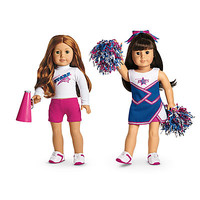 American Girl® Clothing: 2-in-1 Cheer Gear for Dolls + Charm