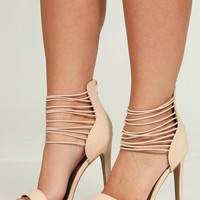 Follow Your Heart Heels: Nude