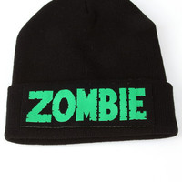 Zombie Beanie from shopoceansoul