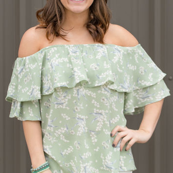 Taylor Off-the-Shoulder top