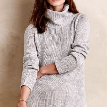 Bow-Back Pullover by Paper Crown Grey