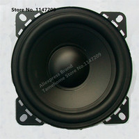 TAMEHOME Universal 4-Inch Bass SubWoofer Black Loud Car Speaker - 1 PC
