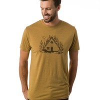 Retreat Tee (Golden Brown) | mens shortsleeves | tentree - official online shop