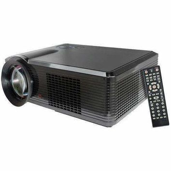 Portable LED Projector for Gaming TV Shows Movies and Sports at Up To 100 Inches / Supports HD Input
