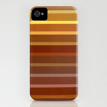 Fields_Gold iPhone Case by Garima Dhawan | Society6