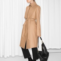 & Other Stories | Wool Trenchcoat | Beige