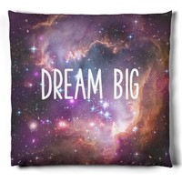 Dream Big, Outer Space Nebulae Pillow