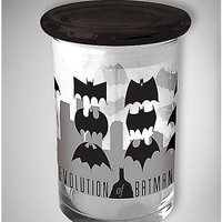 Batman Storage Jar - 12 oz Grey Glass - Spencer's