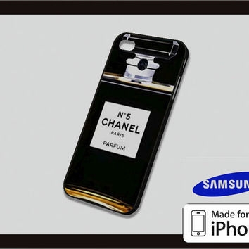 Chanel Parfume No.5 Case for iPhone 4/4s iPhone 5/5c and Samsung Galaxy S3/S4