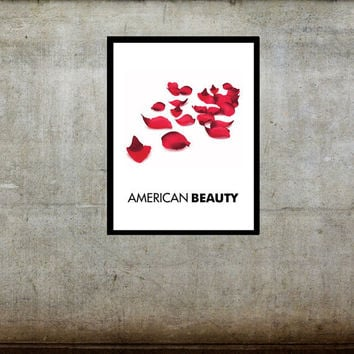 American Beauty Movie Poster Kevin Spacey Annette Bening