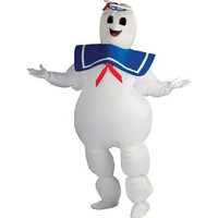 Rubie's Mens Stay Puft Marshmallow Man Halloween Party Ghostbusters Costume