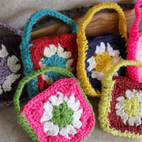Granny Gift Bag cozies for candies, teas, coffees, jewelries or soaps+ (choose 1 of 6)