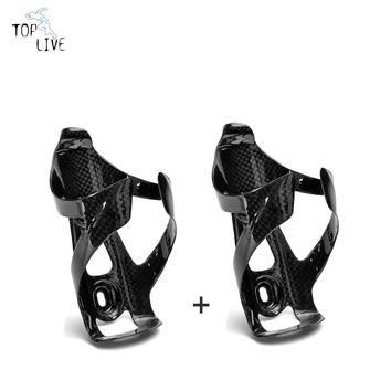 2pcs Full Carbon Bottle Cage Road Bike Bottle Cages Bicycle Bottle Holder Water Bottle Cage Road MTB Bicycle Parts