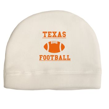 Texas Football Adult Fleece Beanie Cap Hat by TooLoud