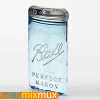 Limited Edition Mason Jar iPhone 4/4S, 5/5S, 5C Series Full Wrap Case