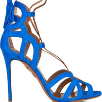 Aquazzura - Mirage suede sandals