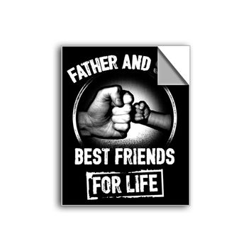 "FREE SHIPPING - ""Best Friends For Life"" Vinyl Decal Sticker (6"" tall) - Limited Time Only!"