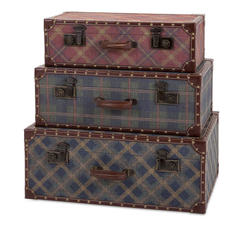 Splendid Ski Lodge Suitcases - Set of 3