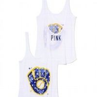 Milwaukee Brewers Low-back Tank - PINK - Victoria's Secret