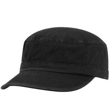 Licensed Black Official Cadet Fidel Hat Cap by Top of the World 649009 KO_19_1