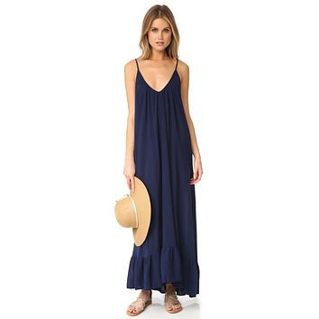 9Seed Paloma Dress Pacific