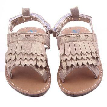 Baby girls shoes Tassel Toddler Princess First Walkers Girls Kid Shoes Baby shoes girl