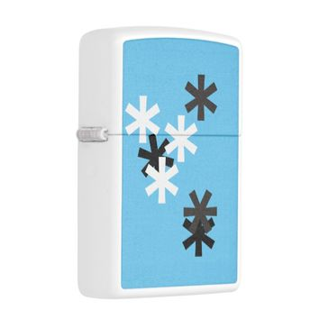Customised Zippo... 'let it snow' Zippo Lighter