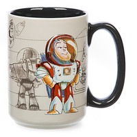 disney art of pixar buzz lightyear 12oz ceramic coffee mug new