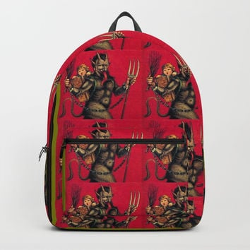 krampuskrampuskrampus Backpack by Kathead Tarot/David Rivera