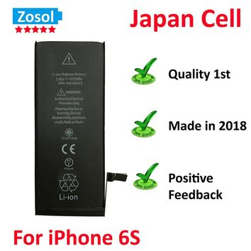 10pcs/lot Best Quality 0 zero cycle Battery for iPhone 6S 1715mAh 3.82V Replacement Repair Parts
