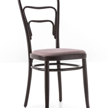 Gebruder Thonet Vienna 144 Bentwood Side Chair (Upholstered) by GTV