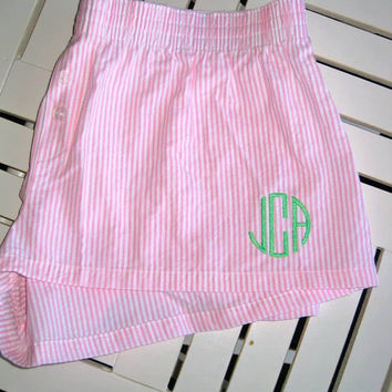 Monogrammed Boxer Shorts