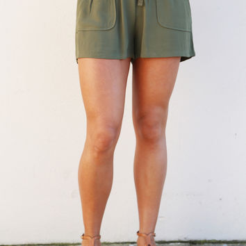 Olive Shorties By BB Dakota