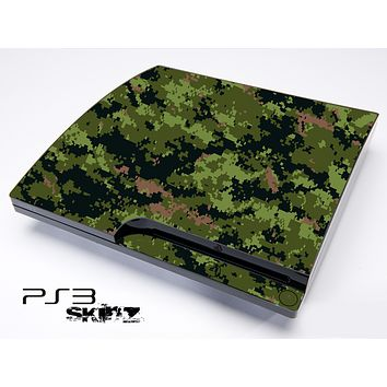 Digital Camo V3 Skin for the Playstation 3