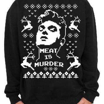 Morrissey Holidays Crewneck Sweater