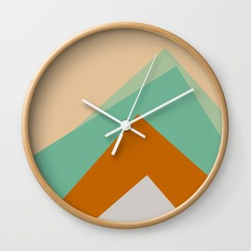 The Nordic Way VI Wall Clock by Metron