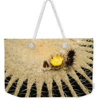 Fascinating Cactus Bloom - Soft And Fragile Among The Thorns Weekender Tote Bag for Sale by Georgia Mizuleva