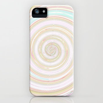 Re-Created Spin Painting No. 13 iPhone & iPod Case by Robert Lee