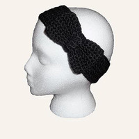 Bow Crochet Headband Knit Ear Warmer Head Wrap Gift under 20 Sale