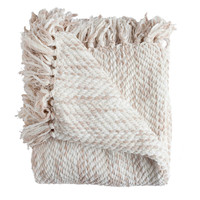 Bella Taupe Throw