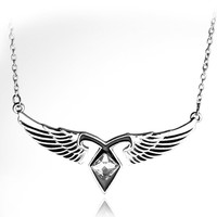 The Mortal Instruments City Of Bones Wings Necklace Pendant