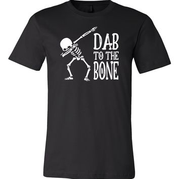 Dab to The Bone Funny Halloween Unisex T-shirt