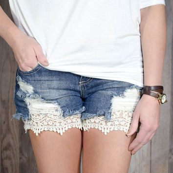 Lace Shorts Extender