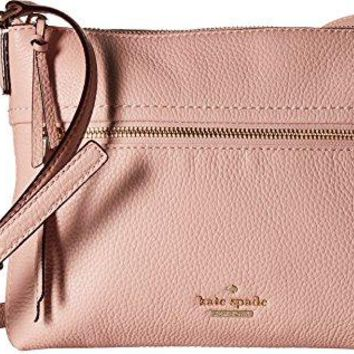Kate Spade New York Women's Jackson Street Gabrielle Cross Body Bag, Rosy Cheeks, One Size
