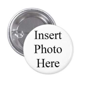 Design Your Own Custom Photo Pinback Button