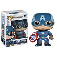 Captain America Pop! Vinyl Bobble-Head Figure by Funko