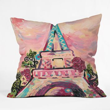 Natasha Wescoat Lumiere De La Ville Throw Pillow